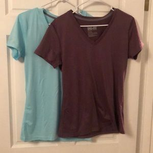 2 Nike Dri Fit Short Sleeve Tees